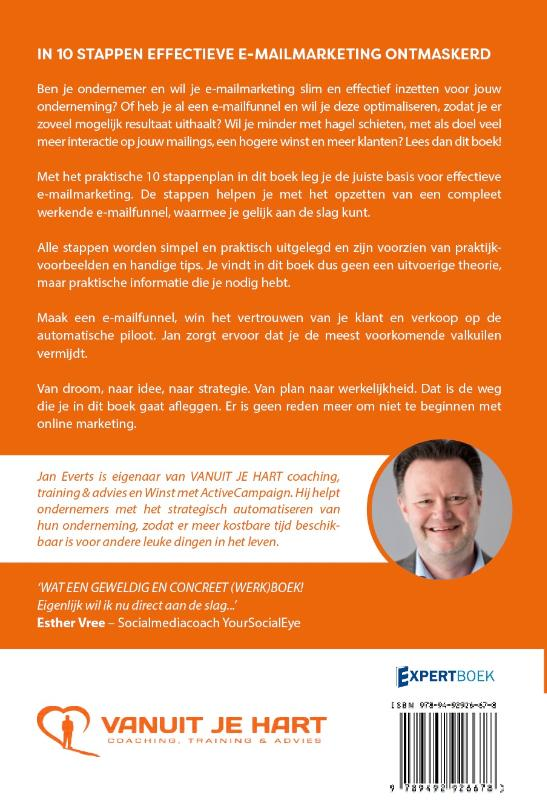 Jan  Everts,In 10 stappen effectieve e-mailmarketing ontmaskerd