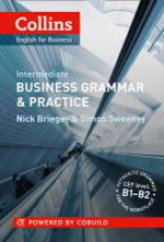 Nick Brieger,   Simon Sweeney Business Grammar & Practice