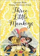 Quentin,Blake Three Little Monkeys