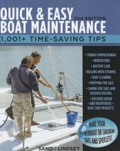 Lindsey, Sandy Quick & Easy Boat Maintenance