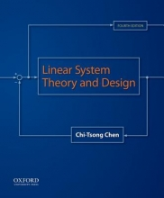 Chen, Chi-Tsong Linear System Theory and Design