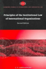Amerasinghe, C F Cambridge Studies in International and Comparative Law