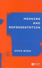 Emma Borg Meaning and Representation