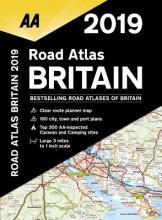 AA Road Atlas Britain 2019