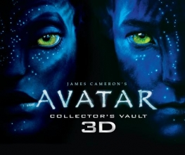 James Cameron`s Avatar Collector`s Vault Book 3D [With 3D Pandora Removable Profiles and 3-D Glasses]