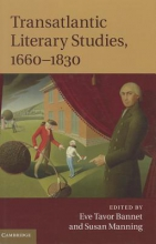 Transatlantic Literary Studies, 1660-1830