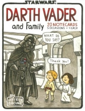Brown, Jeffrey Darth Vader and Family Notecards [With 20 Envelopes]