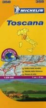 Toscana - Michelin Local Map 358