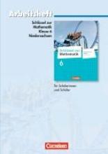 Koullen, Reinhold,Schlüssel zur Mathematik 6. Schuljahr. Arbeitsheft mit eingelegten Lösungen. Differenzierende Ausgabe Niedersachsen