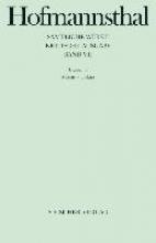 Hofmannsthal, Hugo von Dramen VII. Alkestis, Elektra, Orest in Delphi