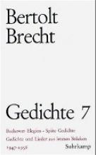 Brecht, Bertolt 1947-1956