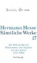 Hesse, Hermann Die Welt im Buch 2