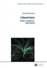 Balcerzan, Edward Literariness