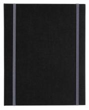 , Kunstenaarsmap leeg MyArtBook A5 6-rings O-mech 14mm zwart zonder inhoud