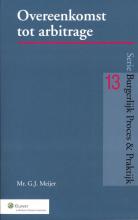 G.J. Meijer , Overeenkomst tot arbitrage