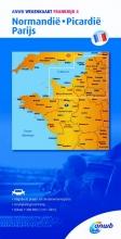 ANWB , Frankrijk 4 Normandie,Picardië,Parijs
