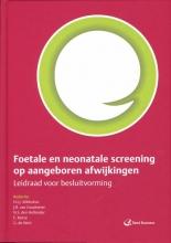 H.I.J. Wildschut , Foetale en neonatale screening op aangeboren afwijkingen