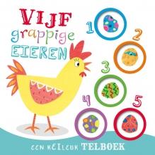 Marnie  Willow Vijf grappige eieren - telboek