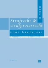 Frank  Verbruggen, Raf  Verstraeten Strafrecht & strafprocesrecht voor Bachelors deel 2 (BE)