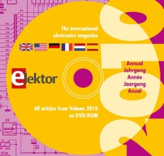 The international electronics magazine DVD elektor / 2010