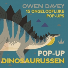 Owen  Davey Pop-up dinosaurussen