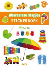 , Stickerboek kleuren 3+