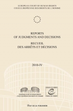 , Reports of judgments and decisions recueil des arrets et decisions 2010-IV