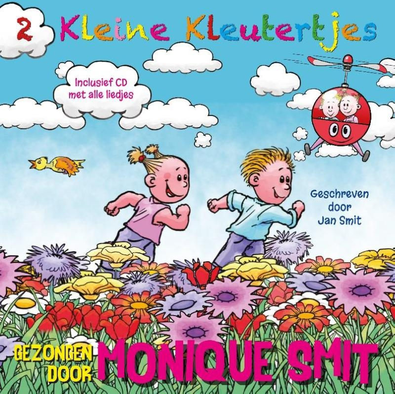 ,2 Kleine Kleutertjes, Monique en Jan Smit CD + Boek