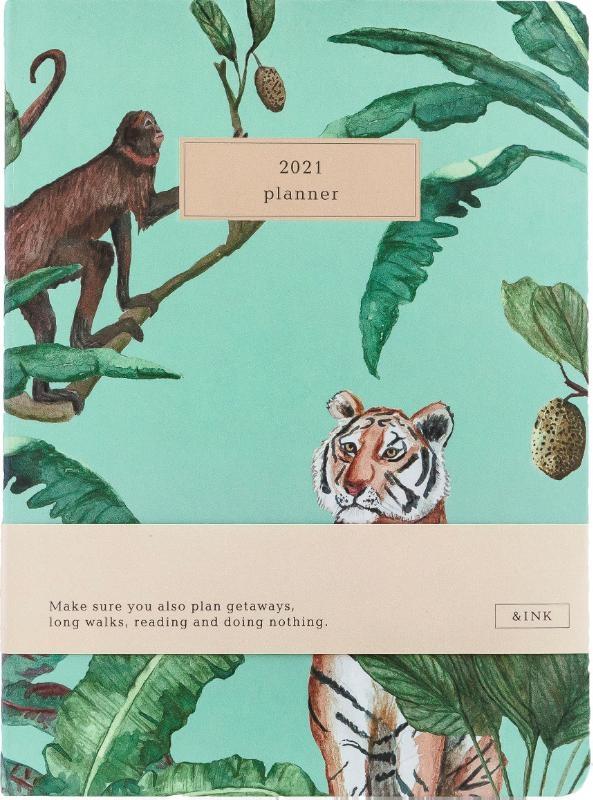 ,&INK Agenda 2021 - Botanisch - Groen