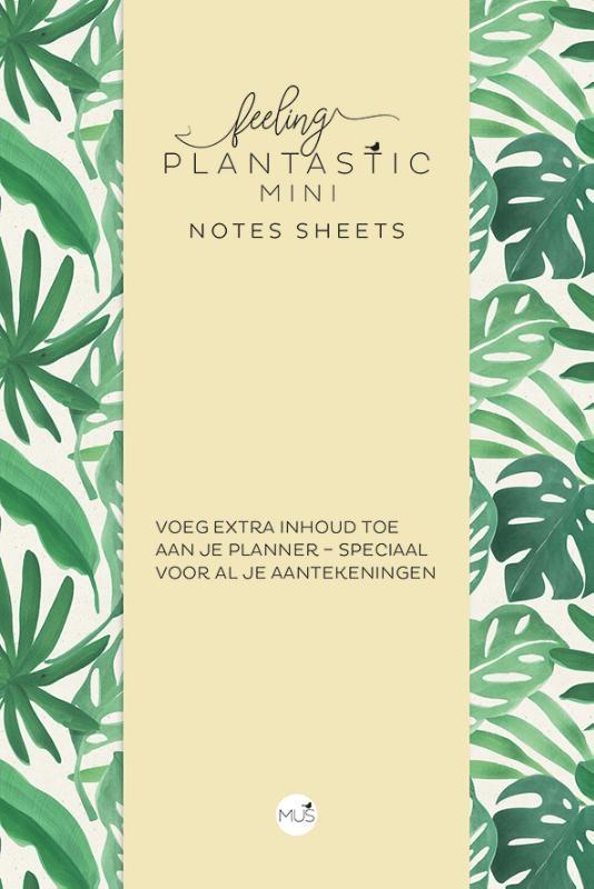 ,Feeling Plantastic mini Notes Sheets