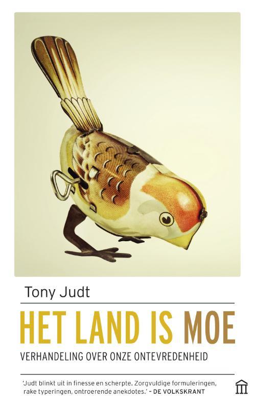 Tony Judt,Het land is moe