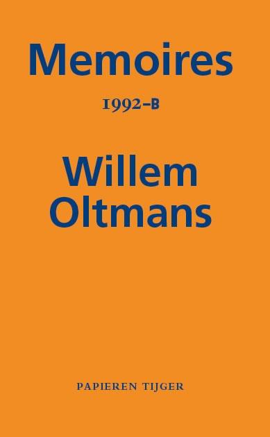Willem Oltmans,Memoires 1992-B