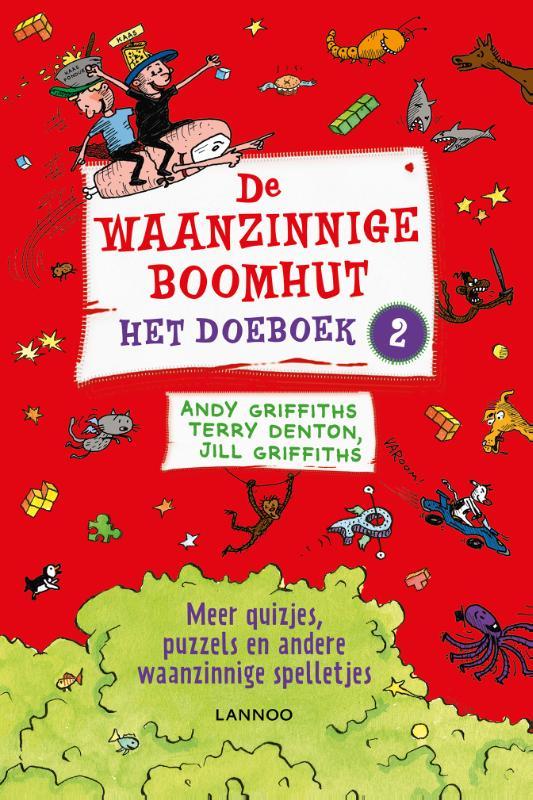 Andy Griffiths, Terry Denton, Jill Griffiths,De waanzinnige boomhut, het doeboek 2