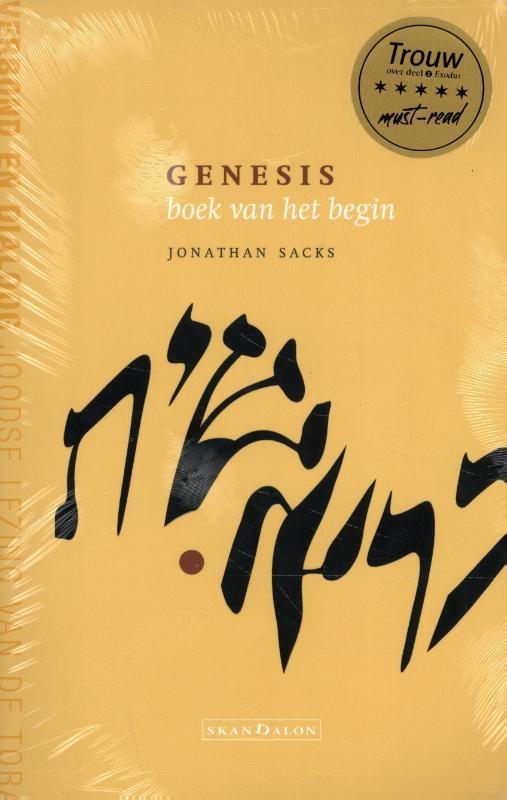 Jonathan Sacks,3-pak Genesis + Exodus + Leviticus