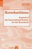 ,Rorschachiana. Yearbook of the International Rorschach Society Rorschachiana