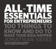 Yates, J,All Time Essentials for Entrepreneurs