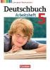 Wagener, Andrea,Deutschbuch 5. Schuljahr. Arbeitsheft mit Lösungen. Gymnasium Niedersachsen