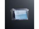 ,buitenvisitekaarthouder Sigel wandmodel 105x76x45mm         transparant acryl