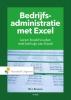W.J.  Broerse,Bedrijfsadministratie met Excel