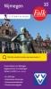 Falkplan BV ,Falk/VVV City map & more 10 Nijmegen 1e druk recente uitgave