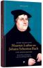 <b>Govert Jan  Bach</b>,Govert Jan Bach over Maarten Luther en Johann Sebastian Bach Twee grensverleggers, Boek + 4 cd`s, Govert Jan Bach.  Luther veranderde het wereldtoneel ingrijpend met nwe kerk en gezangenboek.Bach gaf dit een geniale invulling