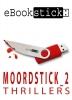eBookstick - Moordstick 2,wekenlang genieten van vijf nieuwe spannende Zweedse thrillers, vier voor volwassenen en één bijzondere jeugdthriller - geleverd op usb-stick in een fraai metalen geschenkdoosje.