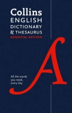 Collins Dictionaries Collins English Dictionary and Thesaurus Essential edition