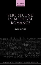Sam Wolfe Verb Second in Medieval Romance