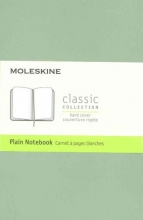Moleskine Classic Notebook, Pocket, Plain, Willow Green