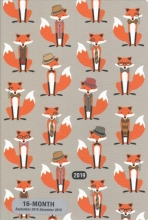 Dapper Foxes Weekly Planner2019 Calendar