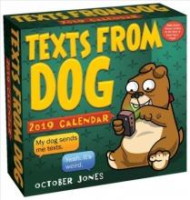 Jones, October Texts from Dog 2019 Calendar