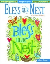 Robin Pickens Bless Our Nest Coloring Book