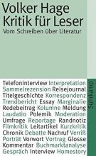 Hage, Volker Kritik für Leser