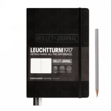 Lt346703 Leuchtturm notitieboek medium bullet journal zwart